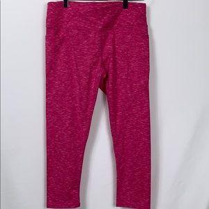 Skechers performance pink leggings size Lg